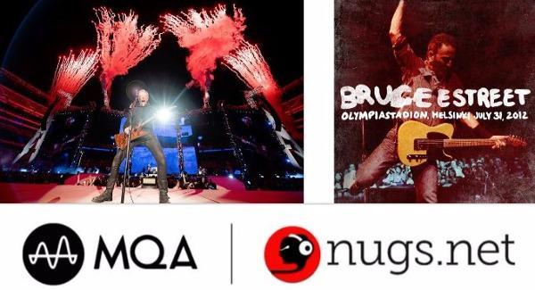 Nugs net Kicks off MQA Downloads with Metallica, Springsteen