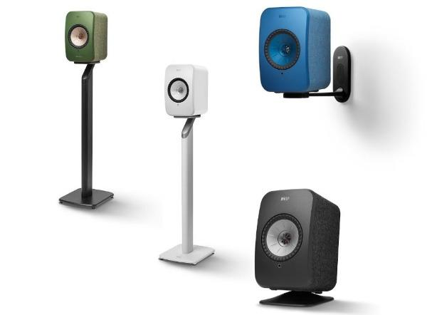 KEF Announces Wall Mount and Stands for LSX Series