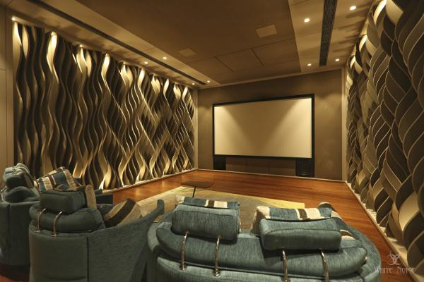 This Home Theater Puts Acoustics Front and Center