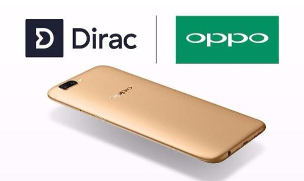Dirac Teams with Oppo to Improve Smartphone Audio