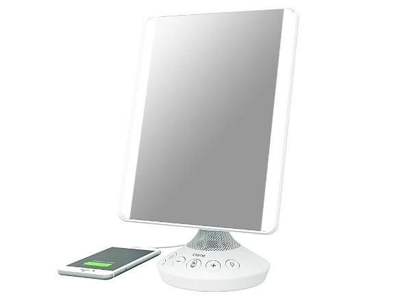 iHome's New Bluetooth Speaker Is Also a Vanity Mirror
