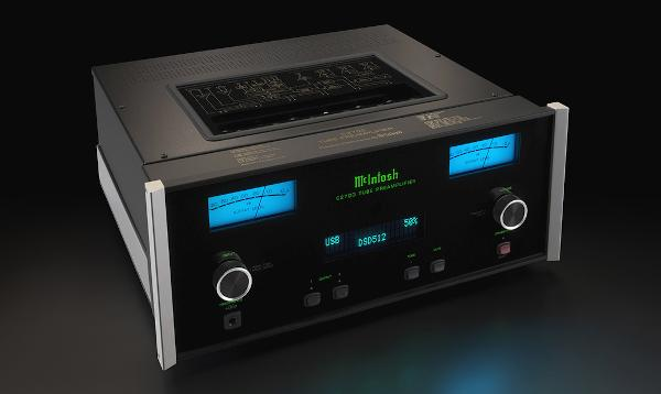 McIntosh Tube Preamp Boasts Powerful Digital Chops