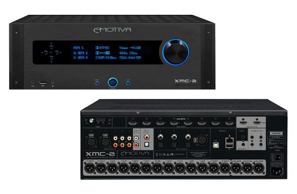 Emotiva's 16-Channel XMC-2 AV Pre-Pro Has Arrived