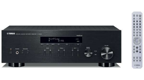 Yamaha introduces 350 stereo receiver sound vision for Yamaha amplifier spotify