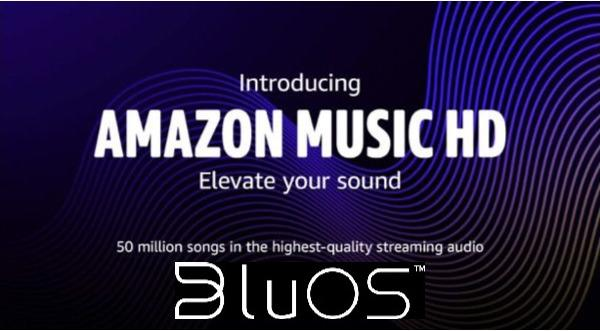 BluOS Is One of First to Integrate Amazon Music HD