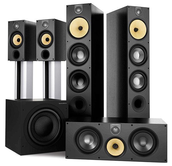 bowers wilkins 683 s2 speaker system sound vision. Black Bedroom Furniture Sets. Home Design Ideas