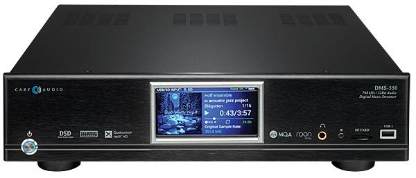 Cary Audio DMS-550 Network Audio Player Review