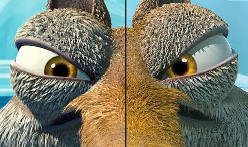1080p upscaling vs blu ray