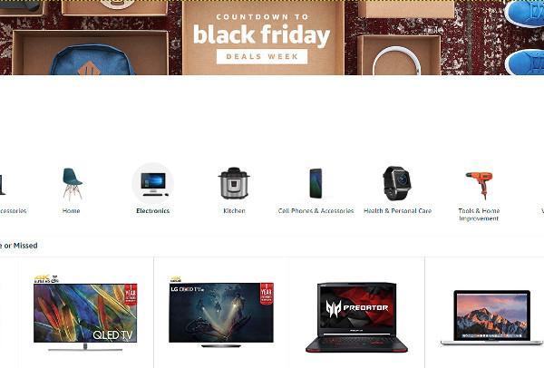 Amazon Opens ?Black Friday Deals? Store