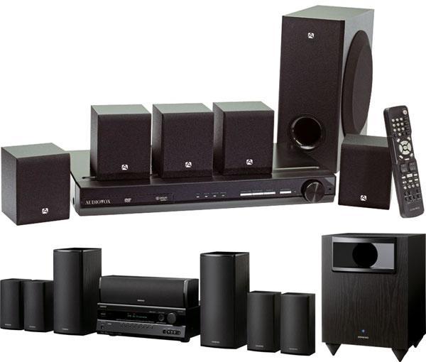 Audiovox vs  Onkyo HTIB   Sound & Vision