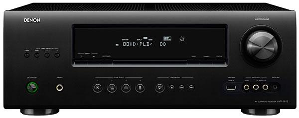 denon avr 1612 a v receiver sound vision rh soundandvision com denon avr-591 instruction manual denon avr-591 service manual