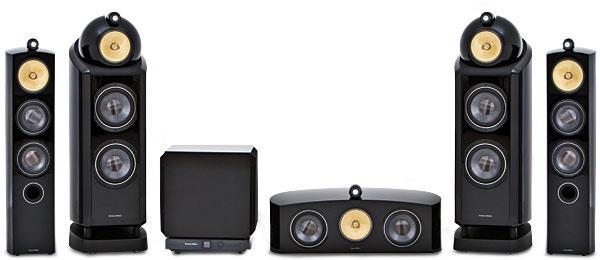 b w 802 diamond speaker system sound vision. Black Bedroom Furniture Sets. Home Design Ideas