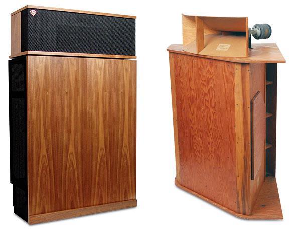 the klipschorn speaker sound vision. Black Bedroom Furniture Sets. Home Design Ideas