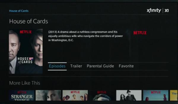 Netflix Integrated into Comcast's X1 Platform | Sound & Vision