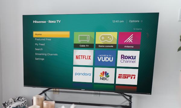 Hisense taps Roku TV for its flagship 4K televisions