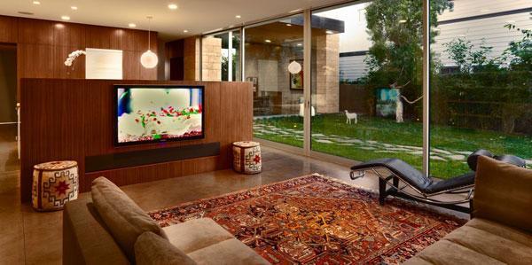 plasma in a sun room sound vision. Black Bedroom Furniture Sets. Home Design Ideas