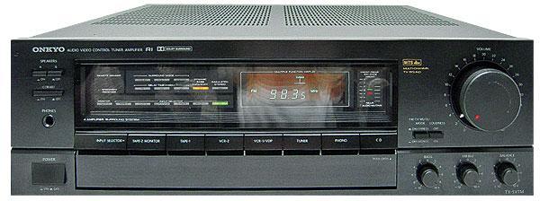 Onkyo TX-SV7M Surround Receiver | Sound & Vision