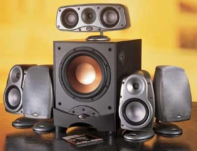 klipsch cinema 10 home theater speaker system sound vision. Black Bedroom Furniture Sets. Home Design Ideas