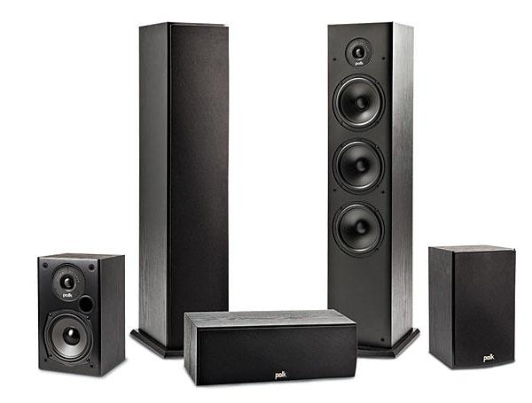 Polk Audio T50 Speaker System Review Sound Amp Vision