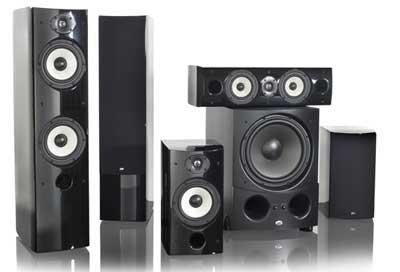 Psb g design home theater speaker system sound vision - Home theater sound system design ...