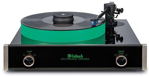 McIntosh MT5 Turntable | Sound & Vision