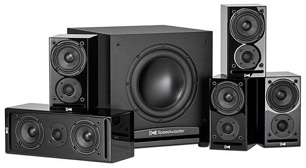Kết quả hình ảnh cho RSL Speakers CG3 5.1 Speaker System Review