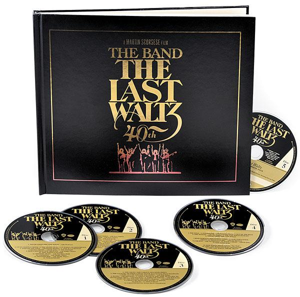The Band The Last Waltz 40th Anniversary Collectors Edition