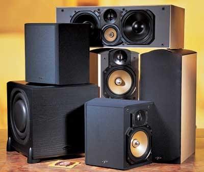 Paradigm Reference Studio 40 v 3 Home Theater Speaker System