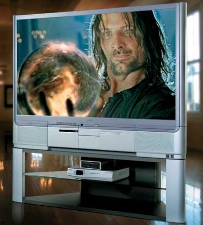 epson livingstation 57-inch rear-projection lcd hdtv | sound & vision
