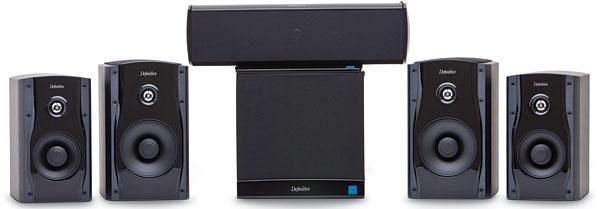 Definitive Technology StudioMonitor 55 Speaker System Sound Vision