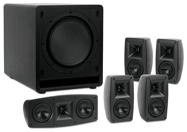 Klipsch Quintet Speaker System Sound Amp Vision