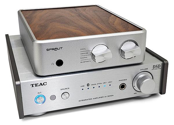 PS Audio Sprout And Teac AI-301DA Integrated AmpDACs