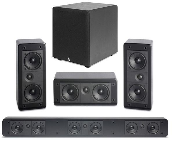 LCR3 Speaker Performance Build Quality