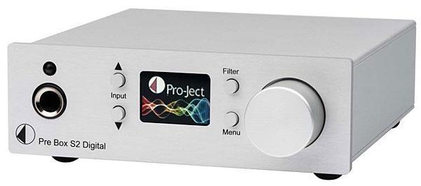 Pro-Ject Pre Box S2 Digital Headphone Amp/DAC Review | Sound