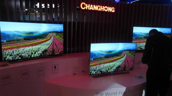 China S Changhong Showed Oled At Ces But Why Sound