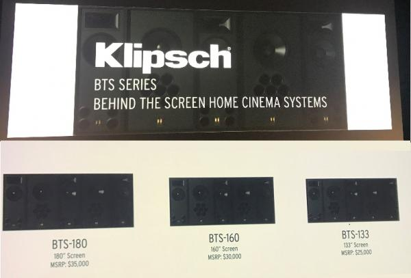 Klipsch Launches Behind the Screen Pro Cinema Home