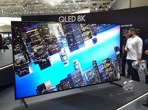 IFA 2018: Up Close with Samsung's 8K TV