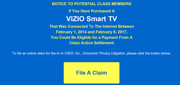 Vizio Wants to Give You $$$