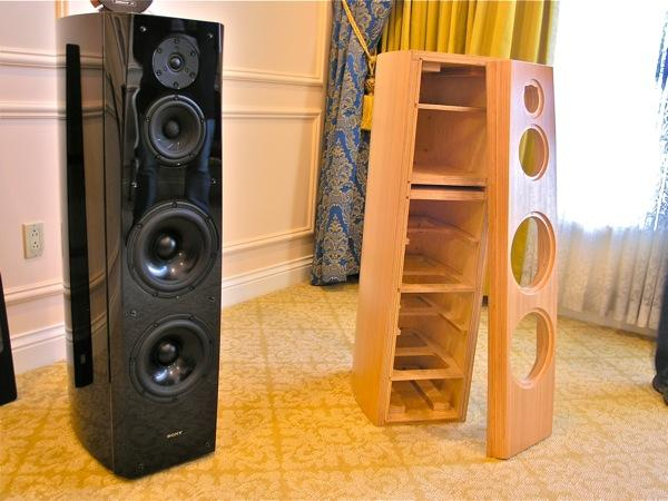 sony tower speakers. sony ss-ar1 tower speakers