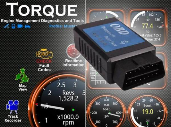 BAFX OBD II Bluetooth Adapter and Torque App | Sound & Vision