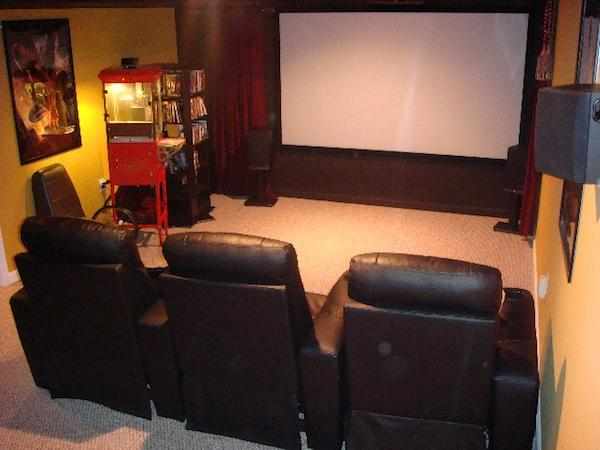 home movie theaters sound vision