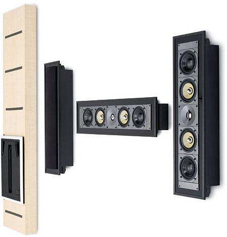 visual complement for ultrathin flatpanel tvs u2022 sealed enclosures for controlled performance u2022 smooth bass from inwall subwoofer