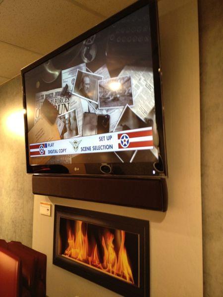 Universal Flat Panel TV Soundbar Bracket Sound amp Vision