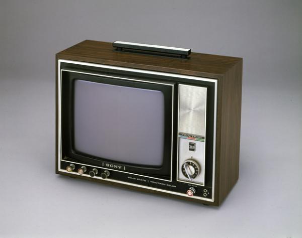 sony trinitron television sound amp vision