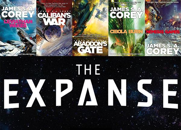 Image result for the expanse book series