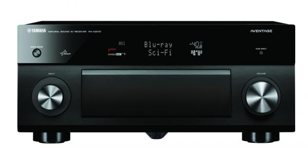Review yamaha aventage rx a2010 a v receiver sound vision for Yamaha aventage rx a3000